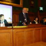 Sabri Atman, Sabri Atman, Stephen Pound (MP), Lina Yakubava and Ara Sarafian, Assyrian Genocide Conference, in House of Commons, London, January 24, 2006.