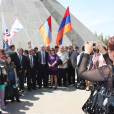 The Unveiling of the Assyrian Genocide Monument and rally Armenia, April 23-24, 2012.