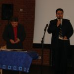 Seyfo presentation in Wiesbaden, Germany, April 9, 2006. Sabri Atman and Abboud Zeitoune