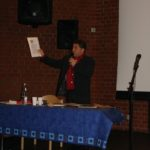Seyfo presentation in Wiesbaden, Germany, April 9, 2006. Sabri Atman.