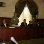 Genocide conference at the House of Commons, London, UK, April 24, 2008.