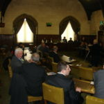 Genocide conference at the House of Commons, London, UK, April 24, 2008, Sara Demir and Sabri Atman.