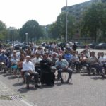 Seyfo lecture and rally in Enschede, the Netherlands, 2004.