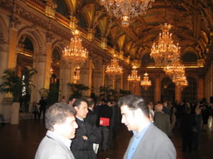 Seyfo rally and presentation in Paris, France, May 24, 2004.