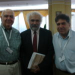 Richar Hovenesian, Ragip Zarakolu and Sabri Atman, International genocide conference in Sarajevo, Bosnia, July 9-14, 2007.