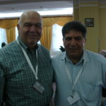 Richard Hovenesian and Sabri Atman, International genocide conference in Sarajevo, Bosnia, July 9-14, 2007.
