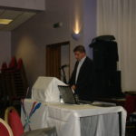 Sabri Atman, Assyrian genocide conference in London, UK, October 21, 2007.