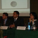Genocide conference, in Yerevan, Armenia, November 27, 2007