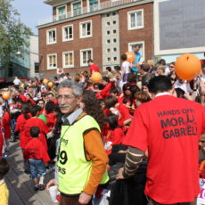 Marathon for recognition of the Assyrian Genocide, Enschede, The Netherlands 2009.