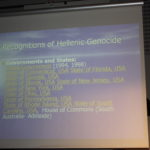 Genoicide conference, in Stockholm, Sweden, May 23, 2009.
