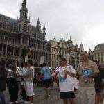 Marathon for the recognition of the Assyrian genocide in Brussels, Belgium, 2009