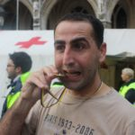 Riad Asmar, Marathon for the recognition of the Assyrian genocide in Brussels, Belgium, 2009