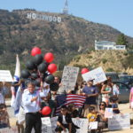 Seyfo Center rally in Hollywood, 2010.