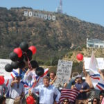 Sabri Atman, Seyfo Center rally in Hollywood, 2010.
