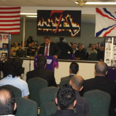 Assyrian genocide presentation in Arizona, US. July, 2010.