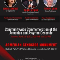 A Memo from Director Of Assyrian Genocide Research Center Mr. Sabri Atman