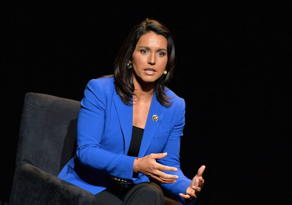 A SPECIAL ANNOUNCEMENT TO SEYFO Center from Congresswoman of the United States of America (D) Tulsi Gabbard who is the Presidential Candidate for 2020