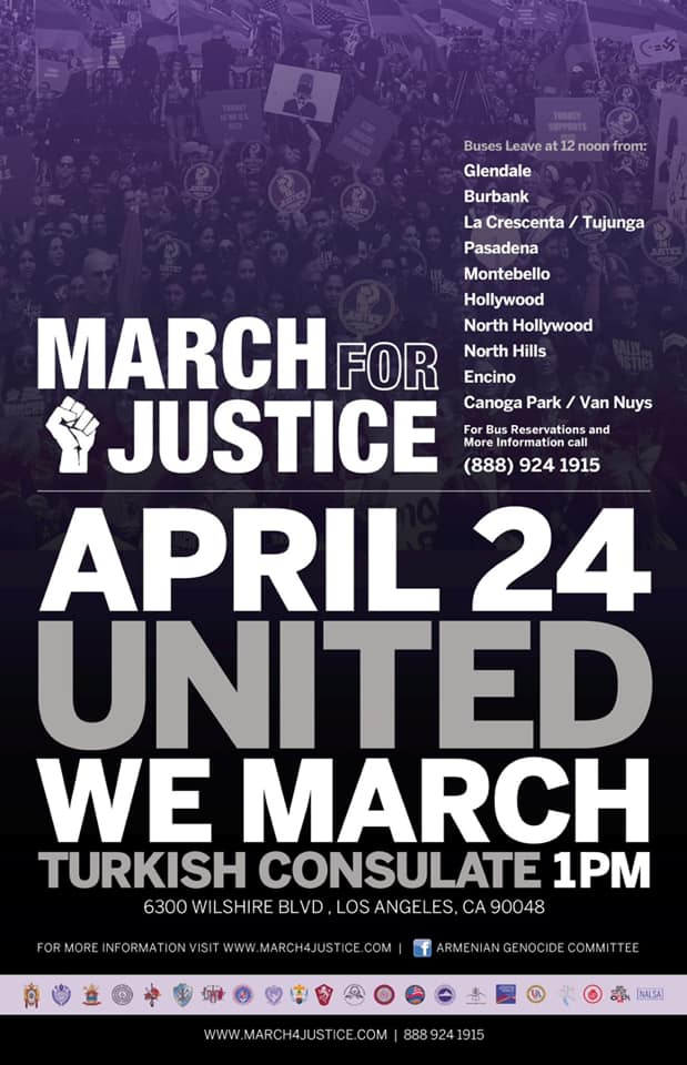 April 24 March for Justice in LOS ANGELES