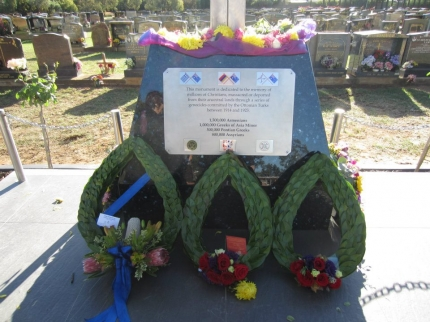 Assyrian, Greek, Armenian Genocide Monument Unveiled In South Australia