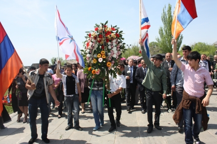 Assyrian Genocide Monument Unveiled in Armenia