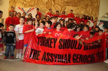 Enschede Marathon, in honor of Mor Gabriel and the Assyrian Genocide, Seyfo of 1915